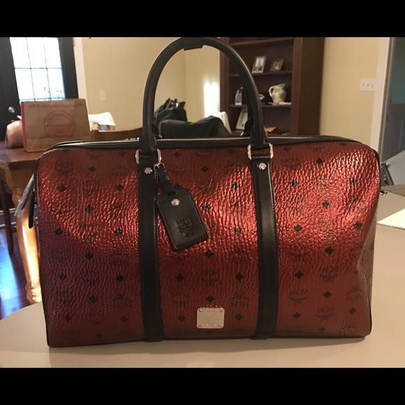 4780d1e69 MCM Bags   Weekender Medium Duffle Bag   Poshmark